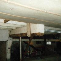 Plafond en constructie afscherming