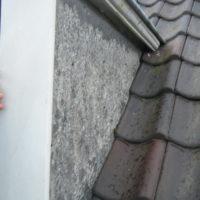 Zijkant van dakkapel