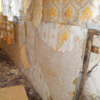 Wandplaat oude woning
